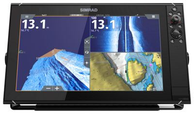simrad multifunction display for finding walleye